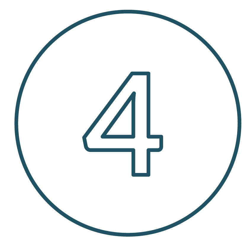 This is an image of the number 4.